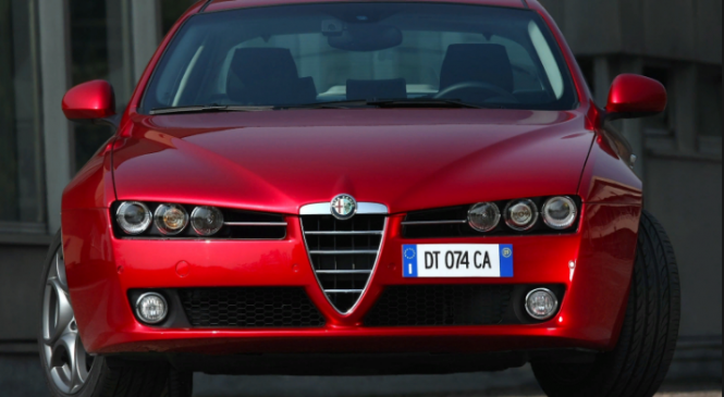 Alfa Romeo executive saloon